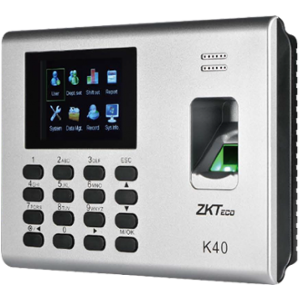 Buy ZKTECO K-40 Biometric Time Attendance Terminal in Pakistan