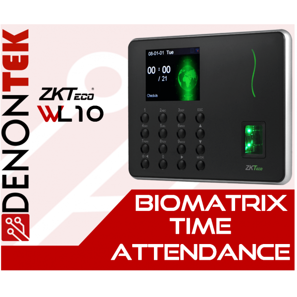 ZKTECO WL10 Wireless Time Attendance Terminal