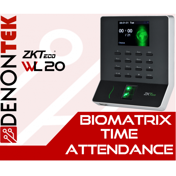 ZKTECO WL20 Wireless Time Attendance Terminal