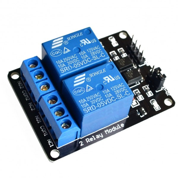 2 Channel 10A 5v Relay Module