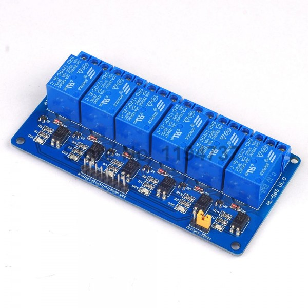 6 Channel 10A 5v Relay Module