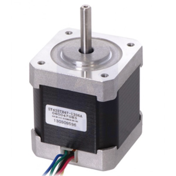 Stepper Motor Unipolar/Bipolar, 200 Steps/Rev, 42×48mm, 4V, 1.2 A/Phase