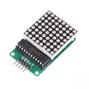 MAX7219 Dot LED Matrix Display Module