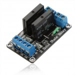 5V DC 2 Channel  Relay Module Solid State