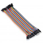 Premium Female/Male 'Extension' Jumper Wires - 40 x 12""
