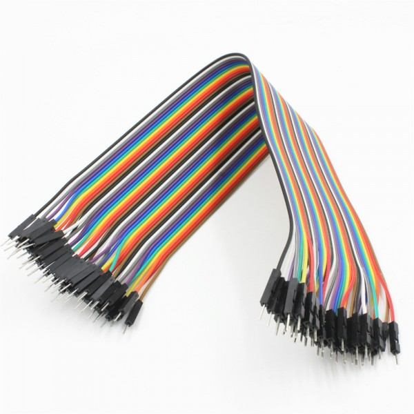 Premium Male/Male Jumper Wires - 40 x 12""
