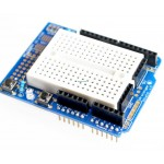 Arduino Compatible Prototype Shield With Mini Breadboard