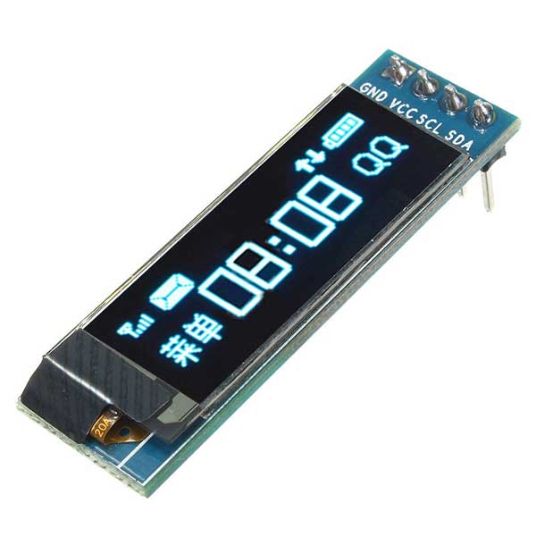 0.91'' OLED LCD 128x32 Display Module